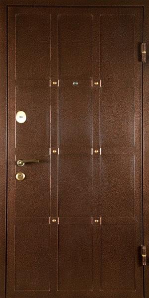 стальные двери порошок с элементами ковки