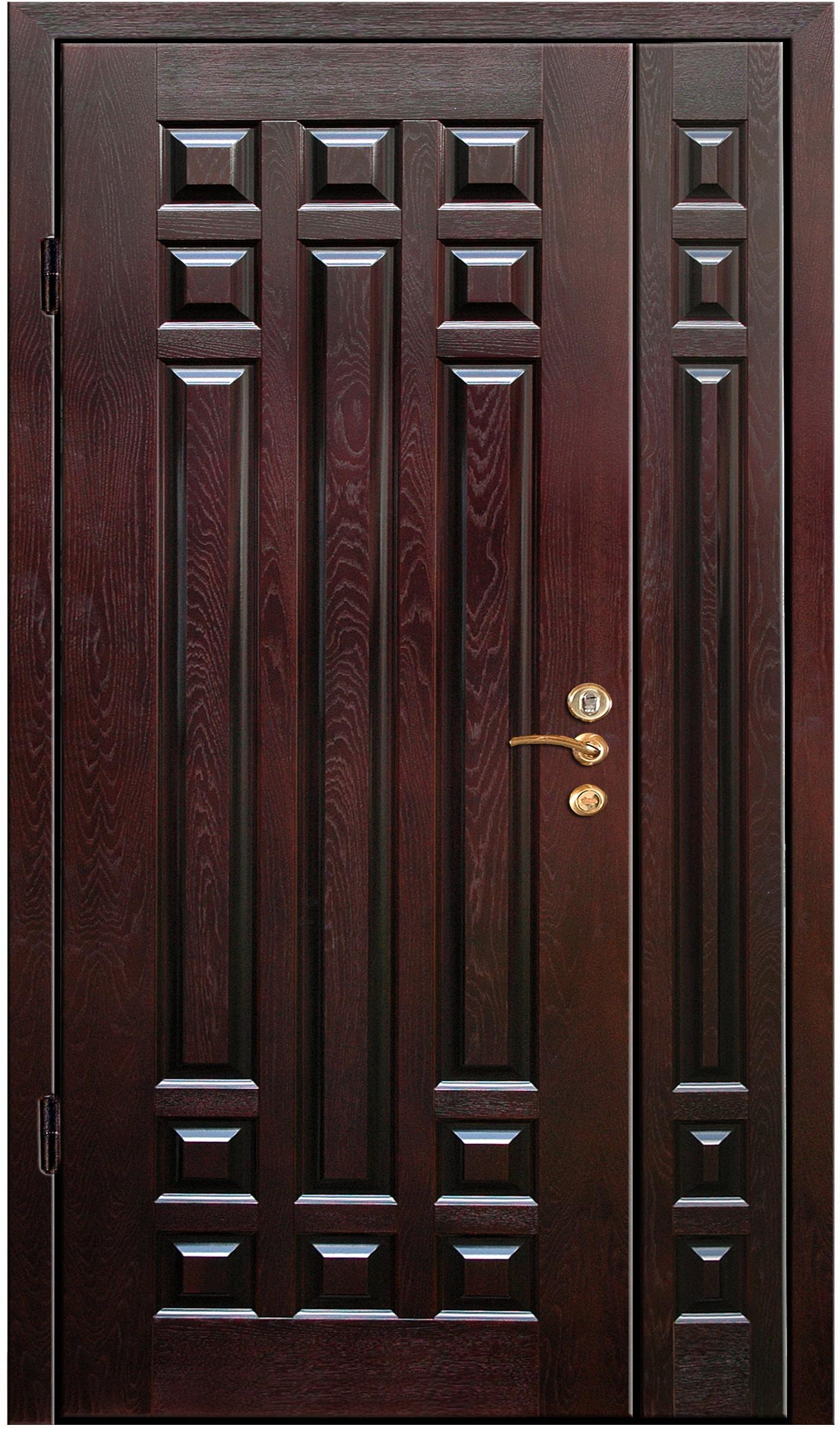 стальные двери филенчатые