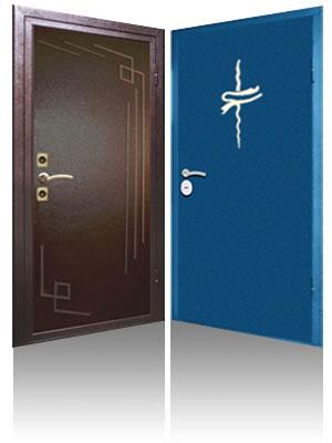 металлические двери с порошковым напылением производство