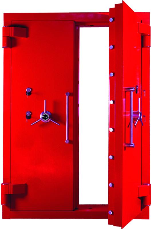 защитная металлическая дверь