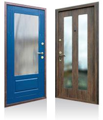 стальная дверь пвх дешево